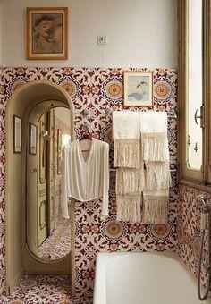27 Modern Bohemian Bathroom Decor Ideas – Bad