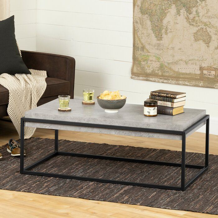 Mezzy Coffee Table In 2020 Coffee Table Grey Black Coffee
