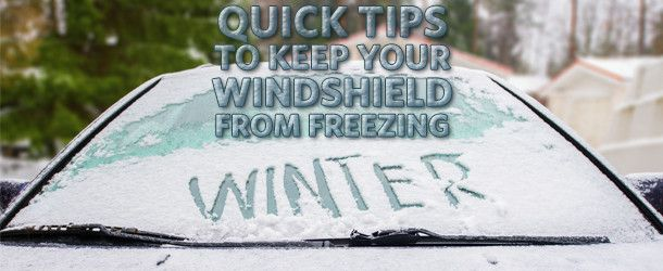Scraping your windshield at 6am in the middle of winter stinks. Try these Quick Tips to Help Keep Your Windshield From Freezing courtesy of Plymouth Rock NJ.