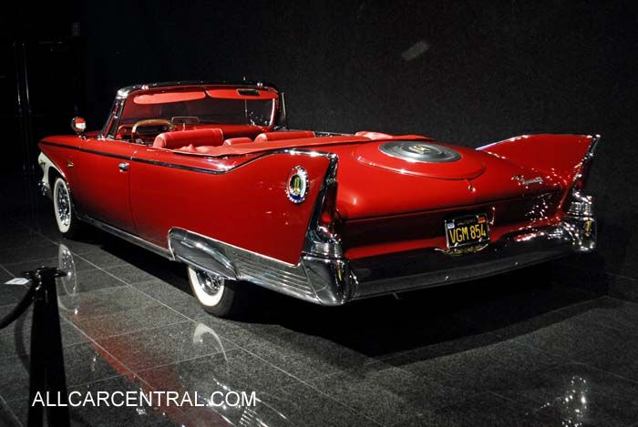 1960 Plymouth Fury Convertible #red