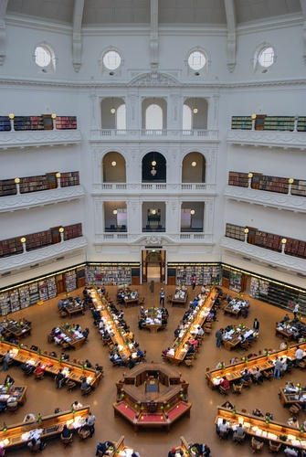 State Library of Melbourne   La Trobe Reading Room