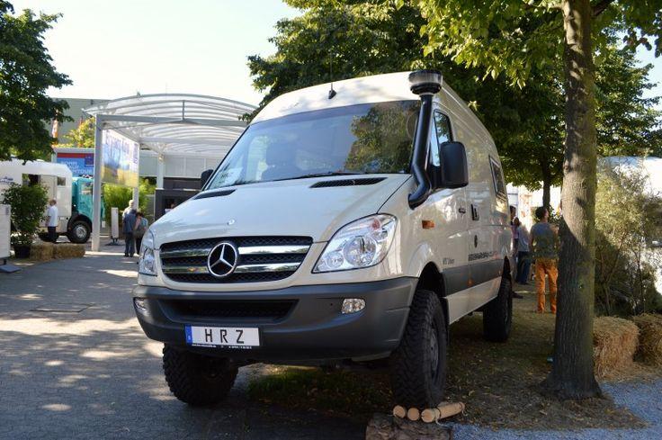 The sahara from hrz reisemobile is based on the mercedes for Mercedes benz sprinter based motorhomes