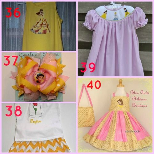 Top 50 Disney World Outfits for Your Princess! | Beautifully BellaFaithBeautifully BellaFaith