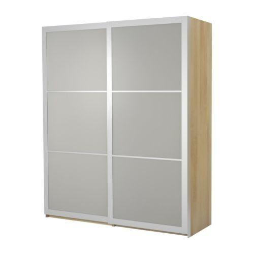 IKEA(イケア) PAX バーチ調 150x66x201 cm 09885010 ワードローブ 引き戸付、バーチ調、リングダール ガラス IKEA(イケア) http://www.amazon.co.jp/dp/B00C65EXGY/ref=cm_sw_r_pi_dp_Vjlivb0YRW40X