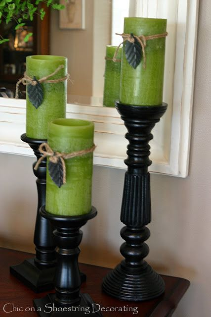 St. Patrick's Day Decor, a Vignette