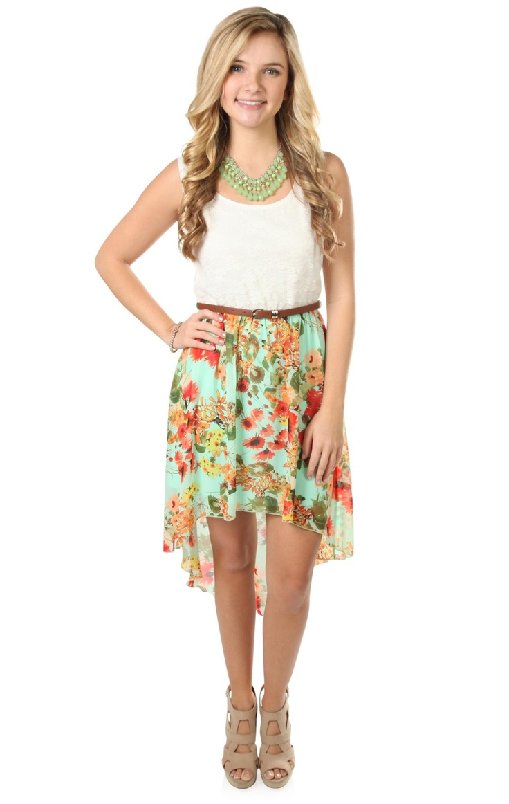 high low dresses casual lace -#main
