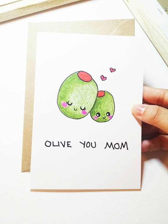 LOVE | Make her smile this Mother's Day with this pun-derful card, and leave...