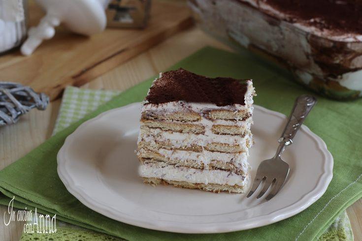 torta mattonella al tiramisù (senza uova)