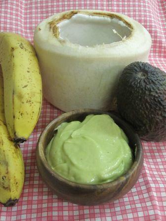 Raw Live Baby Food Recipe – Thai young coconut, avocado & banana mousse | Nicole Waterhouse