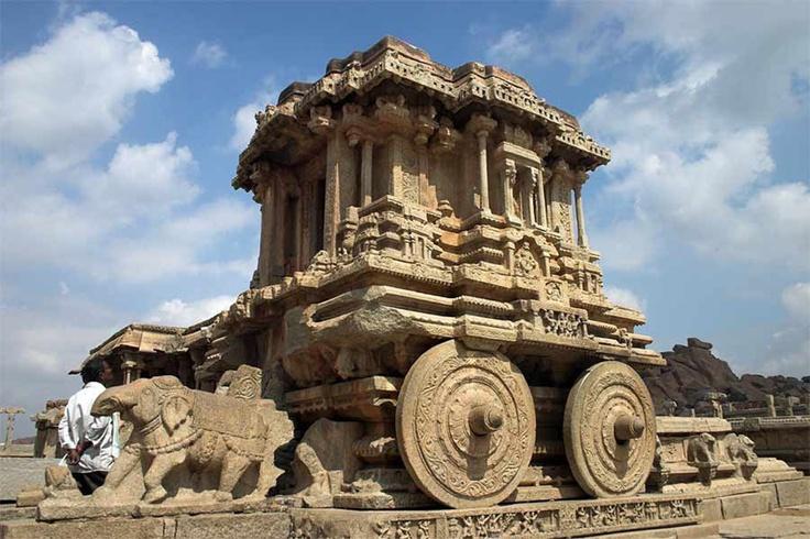 Vijayanagara Ruins, Karnataka, India