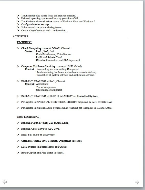 examples of resumes for high school students objective apa - Embeded System Engineer Sample Resume