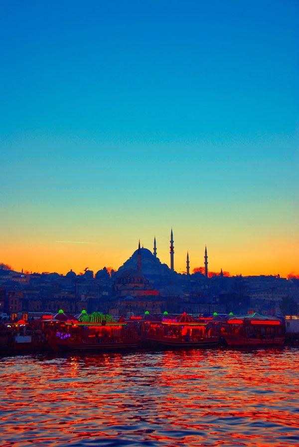Suleiman Mosque by lezahir on DeviantArt