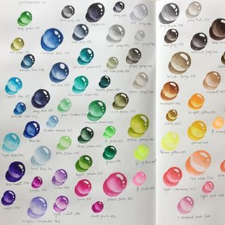 kuretake zig clean color color chart - Google Search