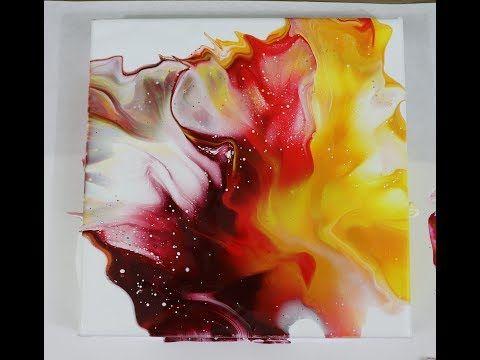 (255) Chakra colors, Dutch for liquid art – YouTube