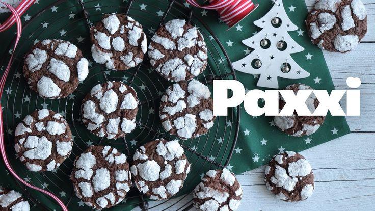 Χιονισμένα ραγισμένα μπισκότα σοκολάτας - Paxxi 1min147