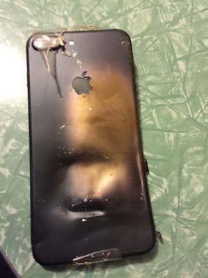Setelah Samsung Kini iPhone Dikabarkan Juga Meledak