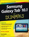 Samsung Galaxy Tab 10.1 For Dummies Cheat Sheet for my tablet!  Really love cheat sheets and the concise explnations.