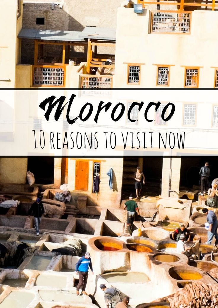 Should you visit Morocco? Find out why it it should be on your bucket list! 10 Reasons To Visit Morocco Now. #travel #morocco
