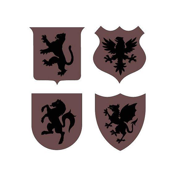 Gemelli con stemma araldico personalizzabili di DARQCREATIONS
