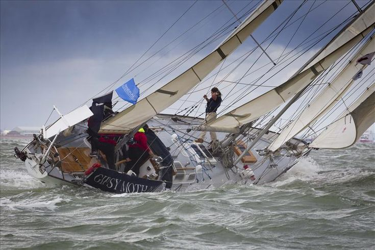 On ships and dames we pin our hopes / We fondle them and dandle them / And every man must know his ropes / Or else he cannot handle them /   --> Absolutely GREAT Sailing  :-)