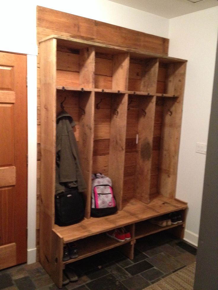 Barnwood Hall Tree Mudroom Look What I Made Pinterest