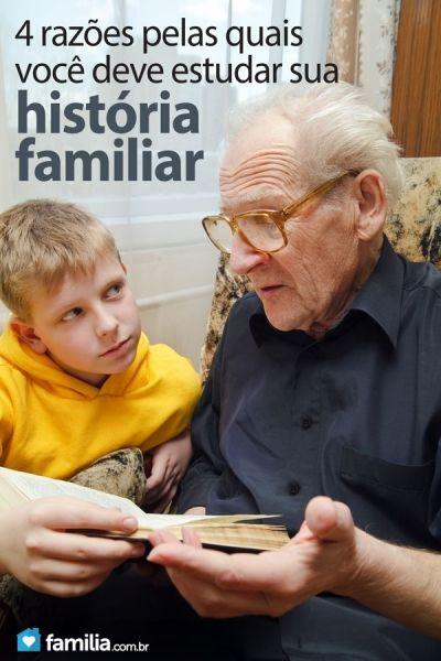 4 razões pelas quais você deve estudar sua história familiar.
