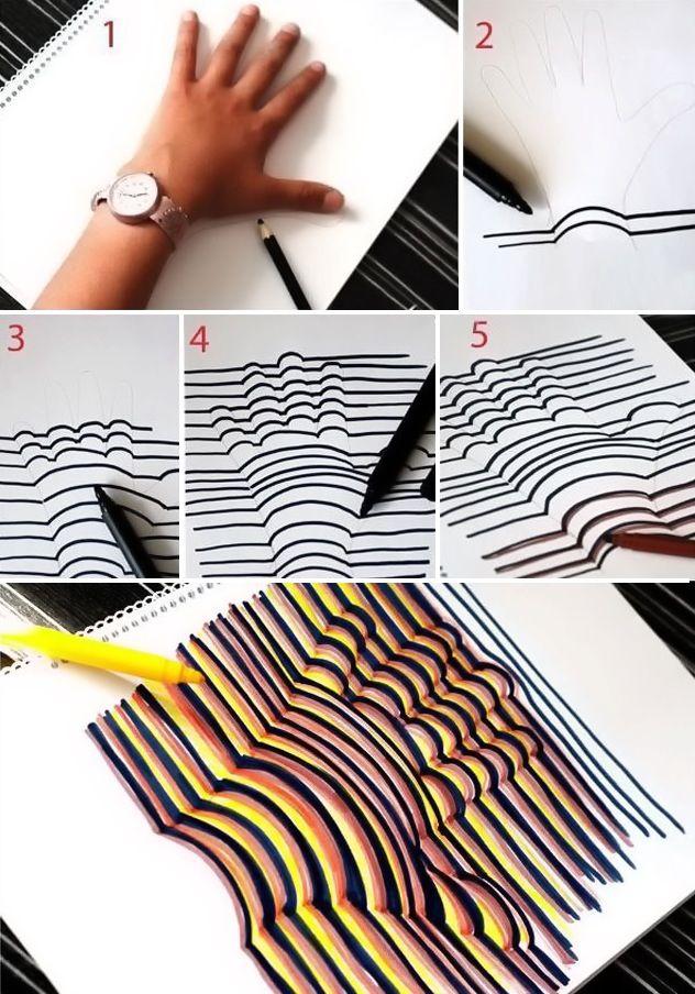 Hand design.