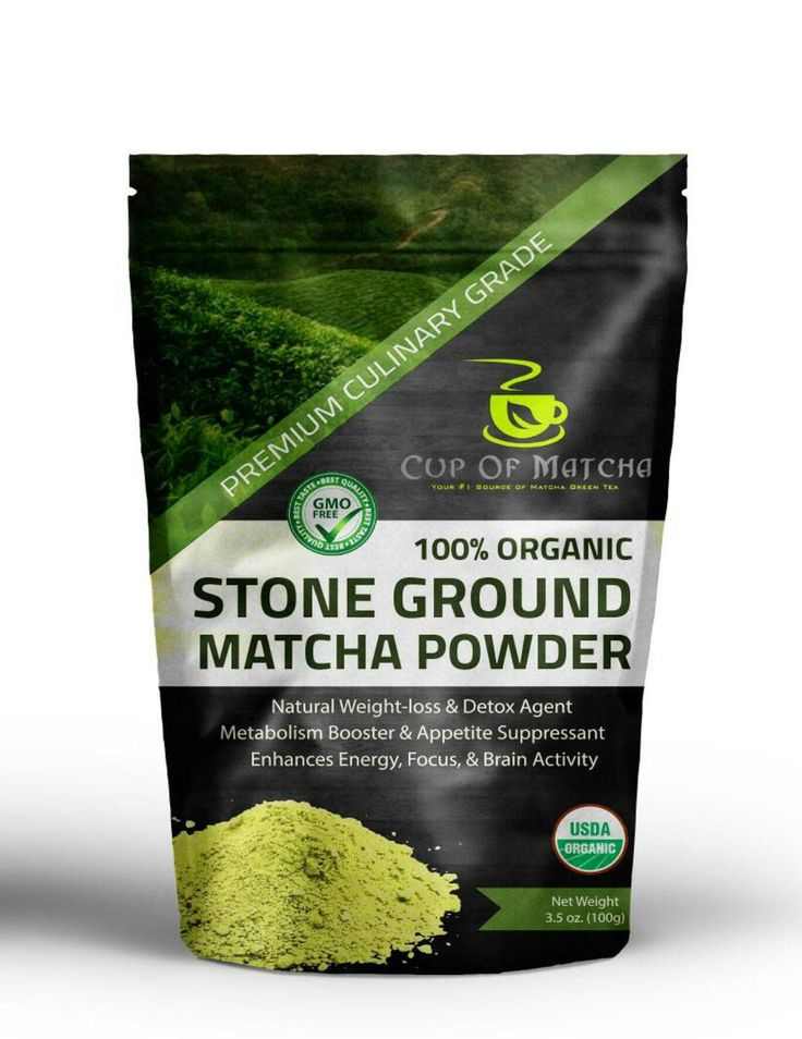 Organic Matcha Green Tea Powder 3.5 oz (100g) - Everyday Matcha - GMO Free