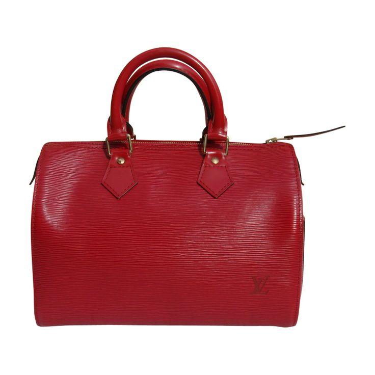 Sac Louis Vuitton rouge