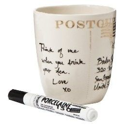 These pens are great for personalizing your ceramics after painting your own design.