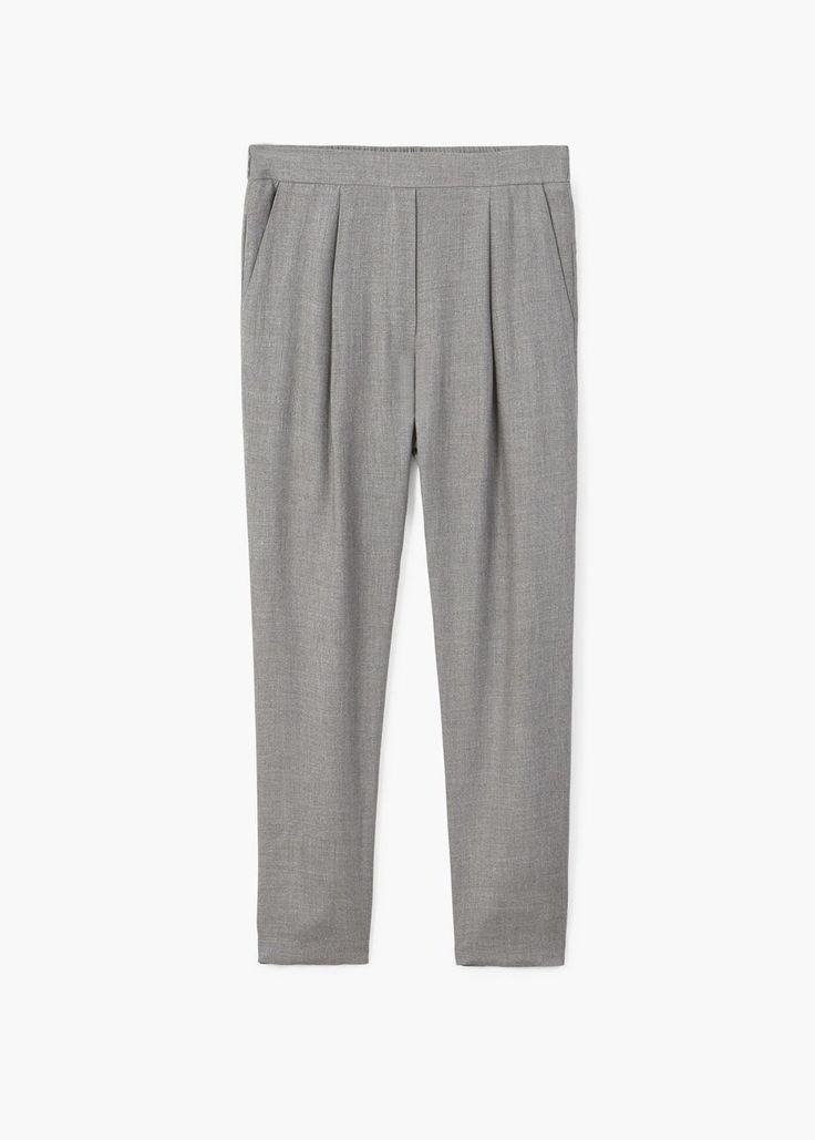 Pantalon à pinces   MANGO