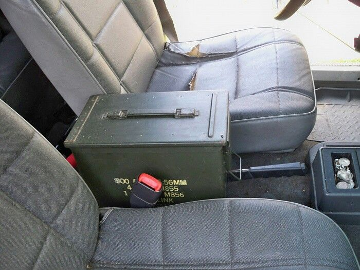 Ammo Can Center Console Jeep Xj Jeep Jeep Parts