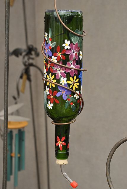 homemade hummingbird feeders   humming bird feeders homemade humming ...