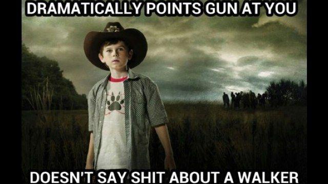 Carl...: Thewalkingdead, Carl Grimes, Stuff, The Walking Dead, Funny, Even, Zombie Apocalypse, Twd, Zombies