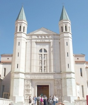 St. Rita basilica - Cascia. Rita is the Saint of the Impossible. Her feastday is May 22.