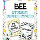 If you are doing the bee theme, this resource will be sure to brighten your classroom! It contains: * 7 student binder covers - reading, math, writ...
