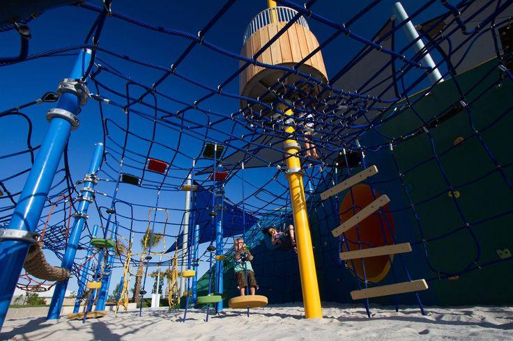 Commercial Playground Design | Blue Park - Bells Reach | Urban Play
