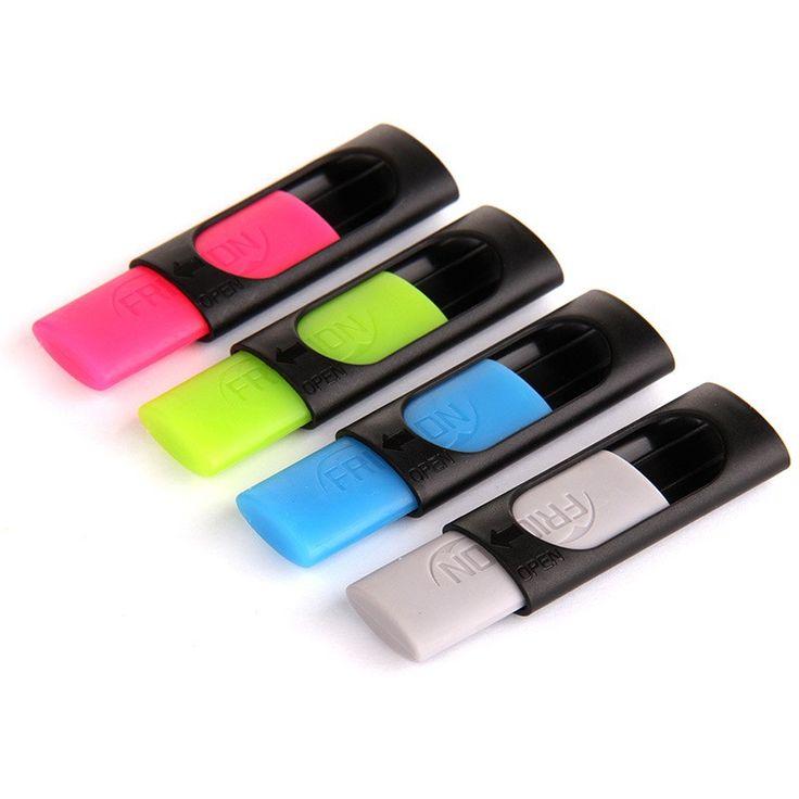 4 pc/lote Genvana fricção de borracha apagável caneta borracha 50 mm * 20 mm com caixa de plástico mais barato de piloto ( Frixion ) apagável