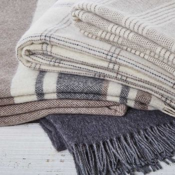 Cashmere And Alpaca Luxury Throws