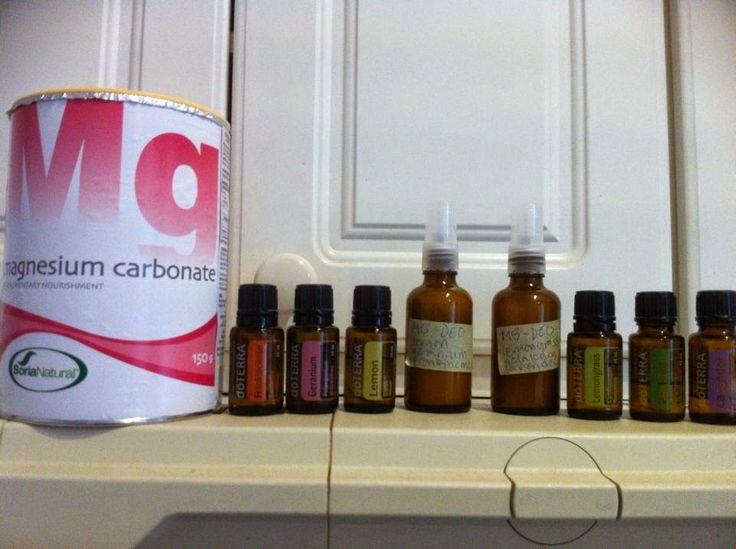 DoTERRAn eteeriset öljyt sekä Juice plus+ tuotteet: Itsetehty magnesium deodorantti