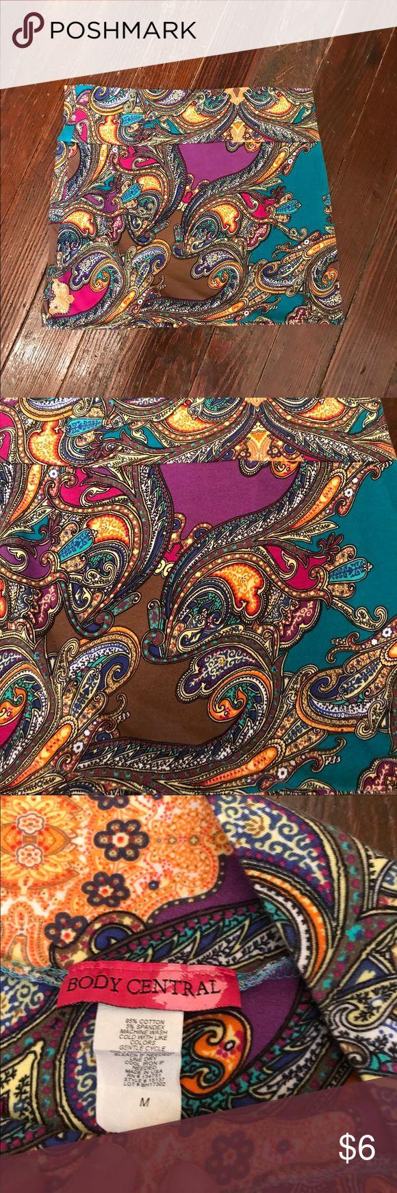 "Body Central Mini Skirt Super soft fabric.  Length 14"".  Looks brand new Skirts Mini"
