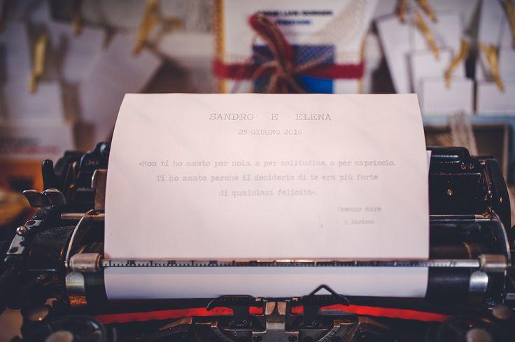 Un matrimonio ispirato ai libri