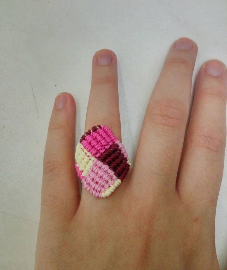 """Candy"" square ring"