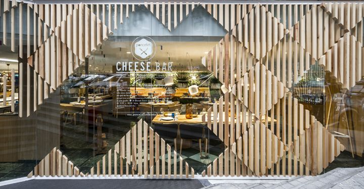 Cheese Bar at Hotel Meliá Sarriá by estudi{H}ac, Barcelona – Spain » Retail Design Blog