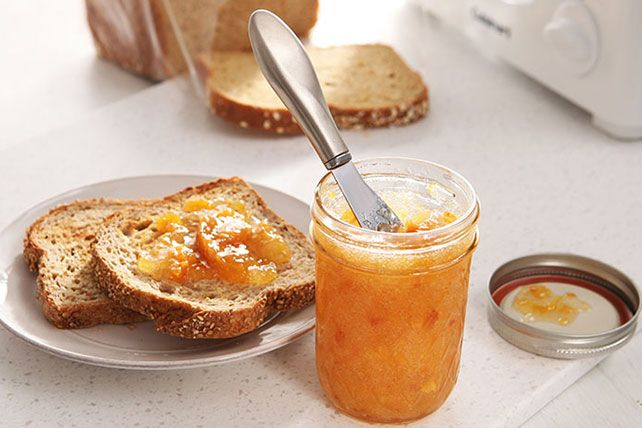 See one of these easiest ways to make peach freezer jam! Make a batch of 30 Minutes to Homemade SURE.JELL Peach Freezer Jam for a thoughtful gift on hand.