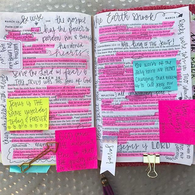 Truly, this was the Son of God  some call it messy, I call it my time with God  >> reading through the New Testament in a year with a year long ESV daily devotional <<