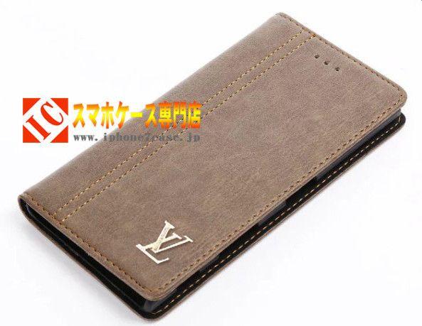 おしゃれソニーエクスペリアXperia XZケース古典風クラシックXperia X Compact携帯カバー手帳型ビジネス風シンプルカード収納ブランドLVg