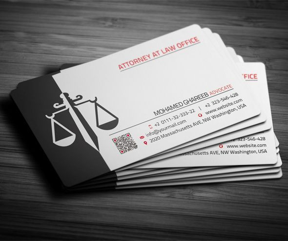 Image Result For Name Card Lawyer Lawyer Business Card Attorney