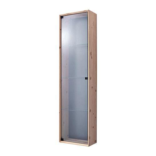NORNÄS Vetrinetta IKEA Legno massiccio grezzo: un materiale naturale resistente, che si può dipingere, oliare o trattare con mordente.