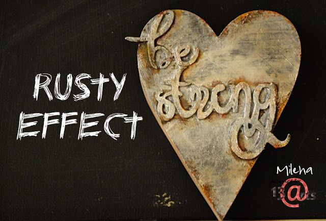 13arts: Rusty effect - tutorial